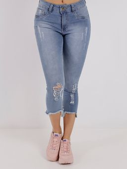 Calca-Capri-Jeans-Feminina-Amuage-Azul