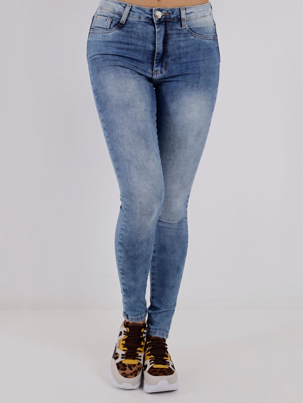 63063c8027 Calça Jeans Super Lipo Feminina Sawary Azul - Lojas Pompeia