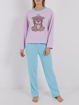 Pijama-Longo-Feminino-Lilas-verde