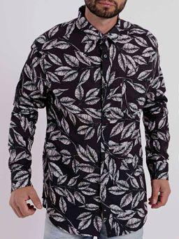 Camisa-Manga-Longa-Masculino-Preto-M