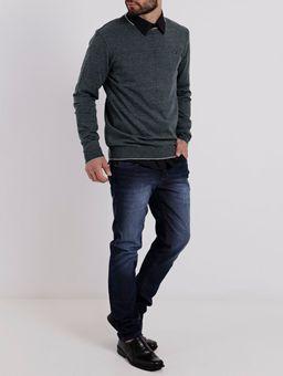 Camisa-Slim-Manga-Longa-Masculina-Preto