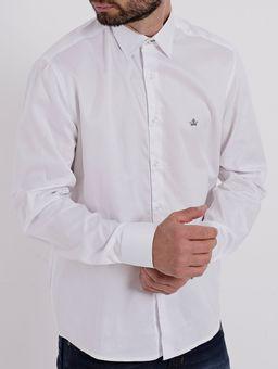 Camisa-Manga-Longa-Masculina-Branco-P