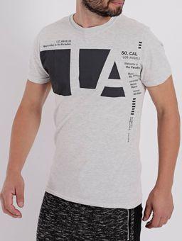 Camiseta-Manga-Curta-Masculina-Cinza-Claro-P