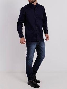Camisa-Manga-Longa-Masculino-Azul-Marinho-P
