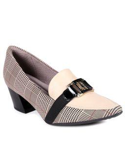 Sapato-de-Salto-Feminino-Piccadilly-Bege-xadrez-34