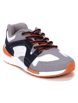 Tenis-Casual-Kidy-Infantil-Para-Menino---Cinza-branco-marinho-laranja-28