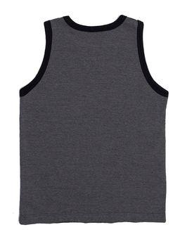 Camiseta-Regata-Rovitex-Infantil-para-Menino---Cinza