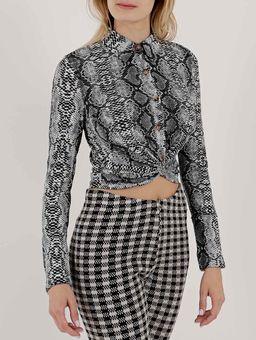 Camisa-Manga-Longa-Feminina-Cinza-cobra-P