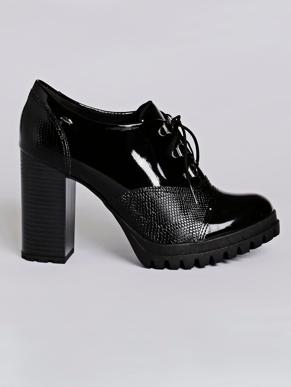 5bb99fada9 Sapato Oxford Feminino Dakota Preto - Lojas Pompeia
