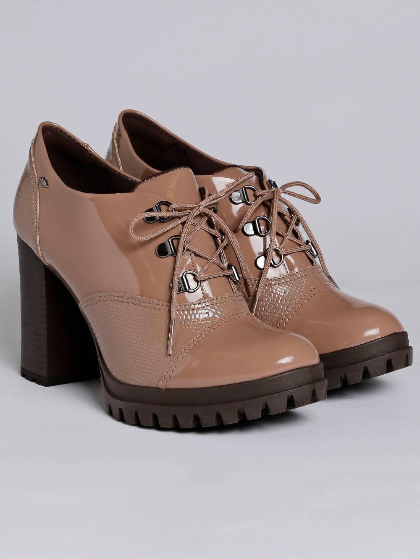 7965aab1ba Sapato Oxford Feminino Dakota Marrom - Lojas Pompeia