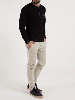Camiseta-Manga-Longa-Masculina-Preto-P