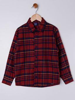 Camisa-Flanela-Manga-Longa-Infantil-Para-Menino---Vermelho-6