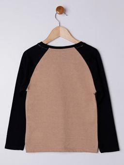 Camiseta-Manga-Longa-Infantil-Para-Menino---Bege-preto-6