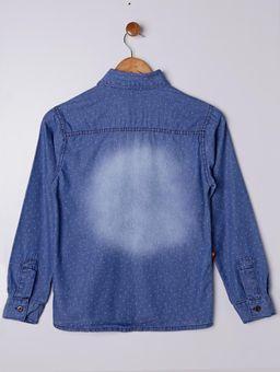 Camisa-Jeans-Manga-Longa-Juvenil-para-Menino---Azul