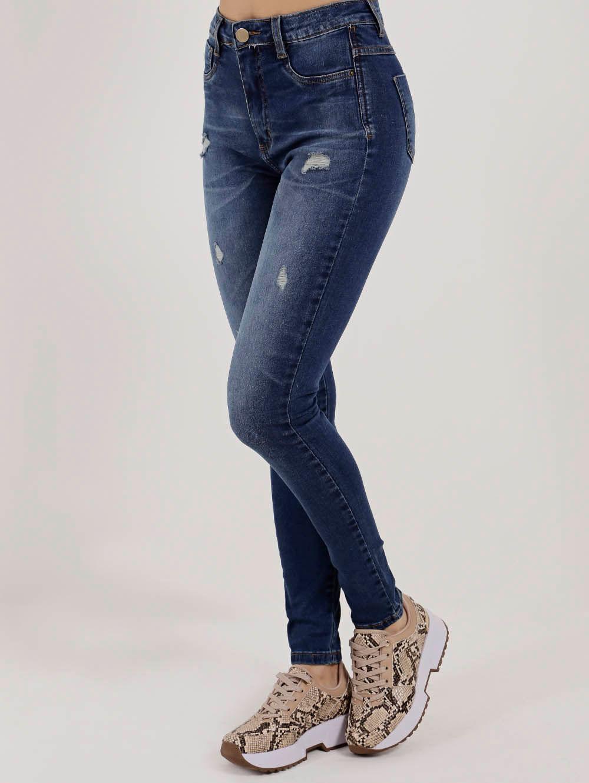 f31907e86 Calça Jeans Super Lipo Feminina Sawary Azul - Lojas Pompeia
