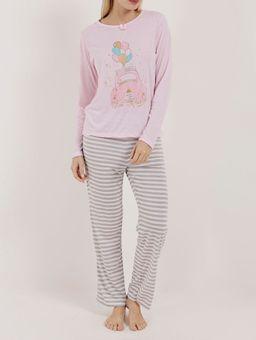 Pijama-Longo-Feminino-Rosa-P
