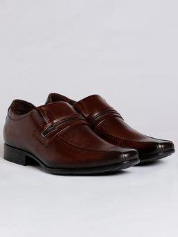 cec64cb818 Sapato Casual Masculino Pegada Marrom