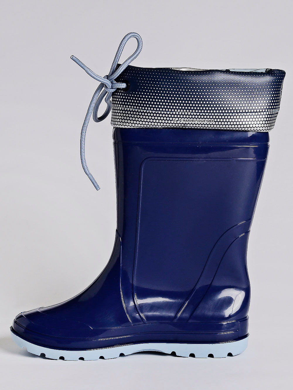 a5fa802d057 Bota Galocha Marvel Claster Infantil para Menino - Azul prata ...