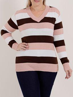 Sueter-Plus-Size-Feminino-Rosa-marrom-G2