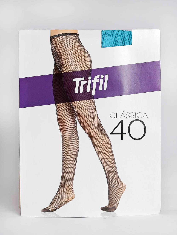 f8505d776 Meia-Calça Neon Arrastão Feminina Trifil Fio Azul - Meia-Calça Neon  Arrastão Feminina