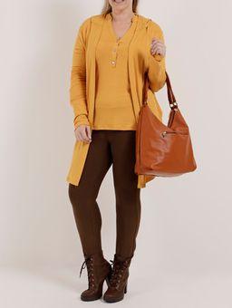 Casaco-Plus-Size-Feminino-Autentique-Amarelo-G2