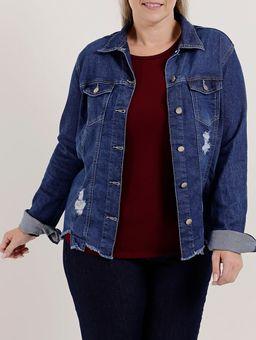 Z-\Ecommerce\ECOMM\FINALIZADAS\Feminino\116792-jaqueta-jeans-sarja-plus-cambos-jeans-rasg-barra-azul