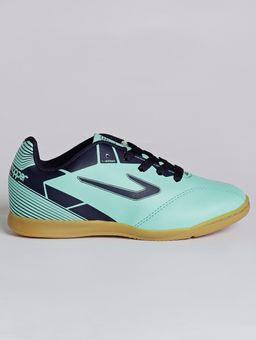 Tenis-Futsal-Topper-Cup-Ii-Jr-Infantil-Para-Menino---Verde-azul-Marinho-31