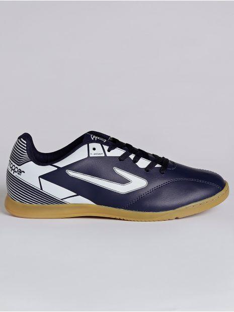 -Tenis-Futsal-Masculino-Topper-Cup-Ii-Azul-Marinho-branco-37