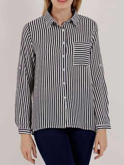 Camisa-Manga-Longa-Feminina-Branco-azul-P