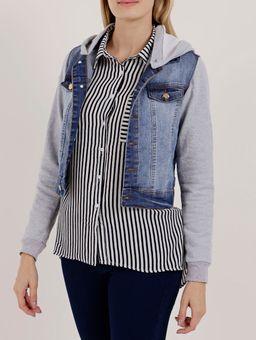 Jaqueta-Jeans-Feminina-Cinza-azul