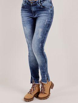 c5874fb7b84 Calça Jeans Feminina Bivik Azul