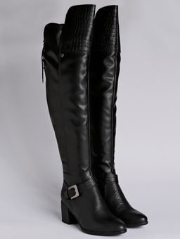 1f64aef351 Bota Over The Knee Feminina Bottero Preto