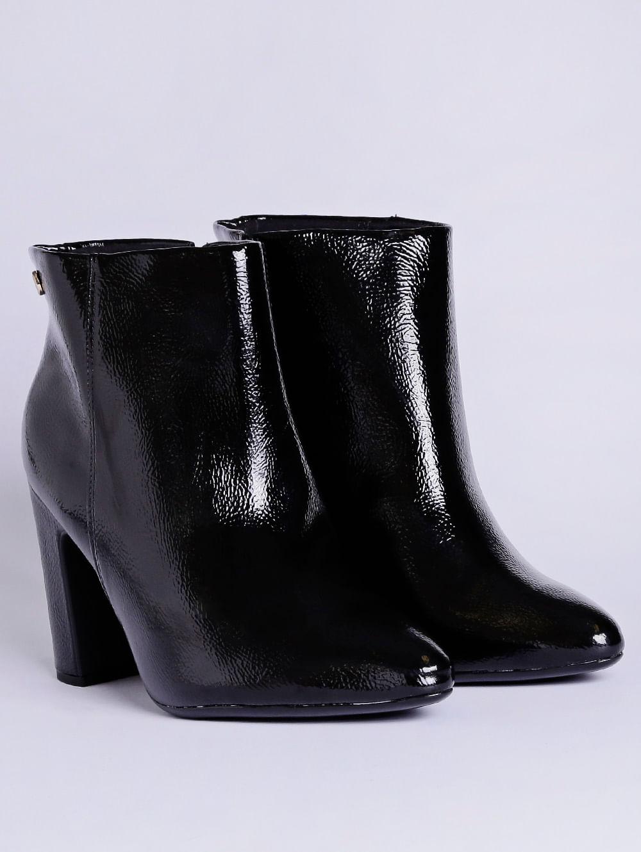 13698ae6df Bota Ankle Boot Feminina Vizzano Preto - Lojas Pompeia