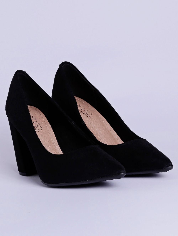 59a013a39 Sapato de Salto Feminino Beira Rio Preto - Lojas Pompeia