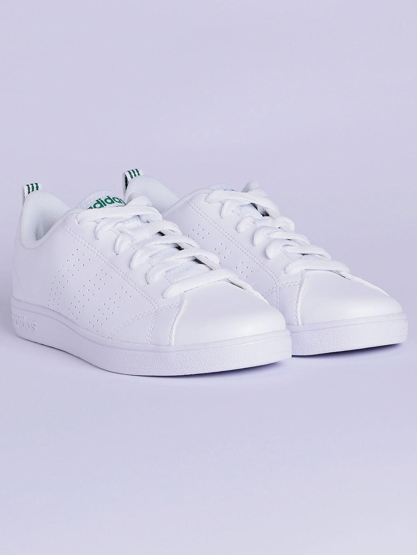 7e9bcc9d5a0 Tênis Adidas Vs Advantage Clean K Infantil Para Menino - Branco verde