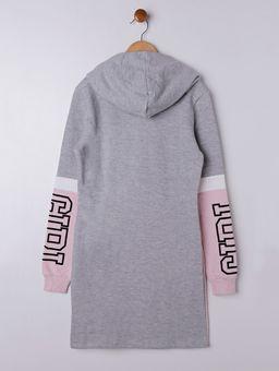 Vestido-Moletom-Lunender-Juvenil-para-Menina---Rosa-cinza