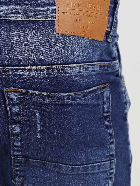 3eb33dda9 Calça Jeans Skinny Masculina Azul - Lojas Pompeia