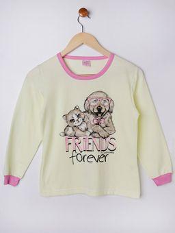 Pijama-Longo-Juvenil-Para-Menina---Rosa-amarelo