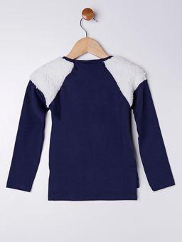 Blusa-Manga-Longa-Infantil-para-Menina---Azul-Marinho