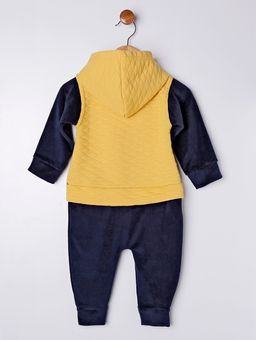 Macacao-Infantil-Para-Bebe-Menino---Amarelo-azul-M