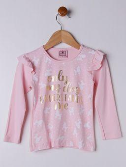 -Blusa-Manga-Longa-Infantil-Para-Menina---Rosa-1
