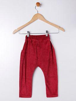 Calca-Plush-Infantil-para-Menino---Vermelho