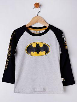 Camiseta-Manga-Longa-Batman-Infantil-Para-Menino---Cinza-preto-1