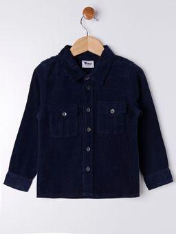 Camisa-Manga-Longa-Infantil-Para-Menino---Azul-Marinho-6