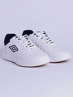 Tenis-Futsal-Masculino-Umbro-Special-Cup-Low-Branco-azul-Marinho-37