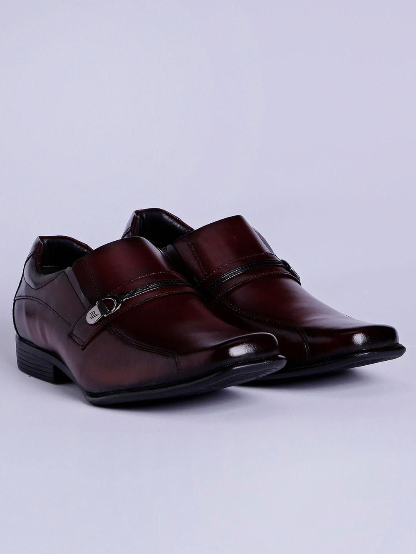 1a5c130620 Sapato Casual Masculino Marrom preto - Lojas Pompeia