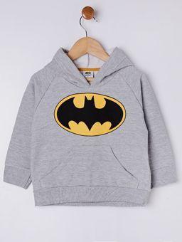 Moletom-Fechado-Batman-Infantil-Para-Menino---Cinza