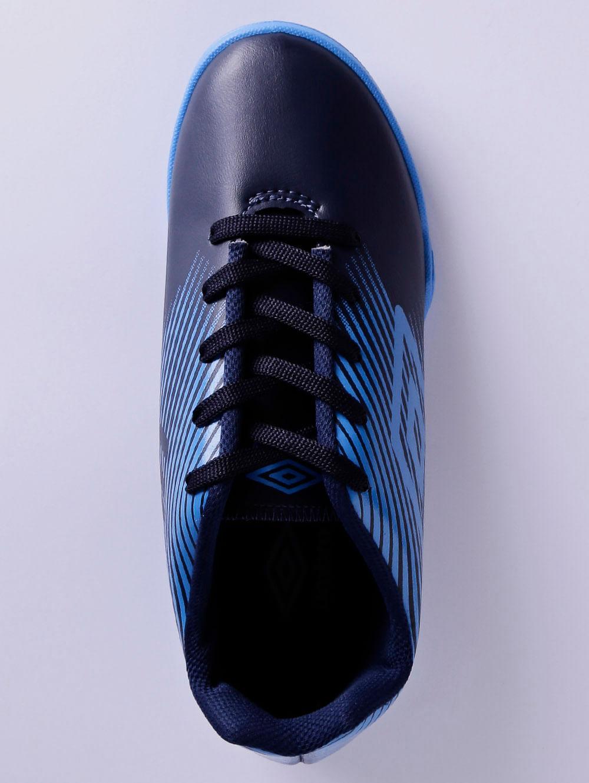 f4495e0a8c Tênis Futsal Umbro F5 Light Jr Indoor Infantil Para Menino - Azul  Marinho azul