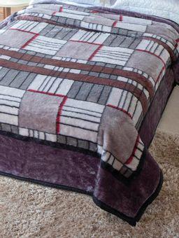 Cobertor-Casal-Jolitex-Tradicional-Cinza