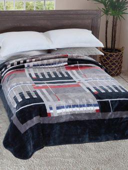 Cobertor-Casal-Jolitex-Cinza